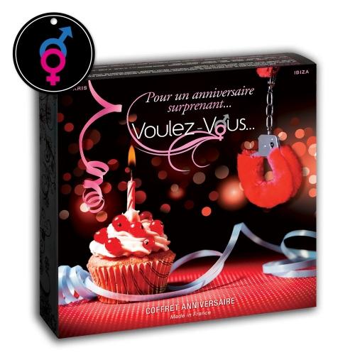 Coffret Sexy ANNIVERSAIRE - by Voulez-Vous...