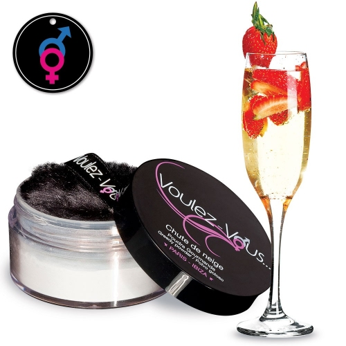 Edible Powder - Berry Sparkling wine - LADY SNOW - by Voulez-Vous...