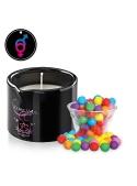 Massage candle BubbleGum - ALLUME-MOI by Voulez-Vous...