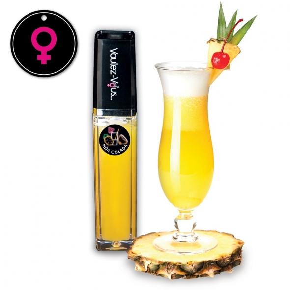 Gloss érotique Effet Chaud-Froid Piña Colada