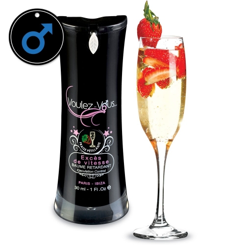 Ejaculation control - Berry Sparking Wine - SPEED LIMIT - by Voulez-Vous…