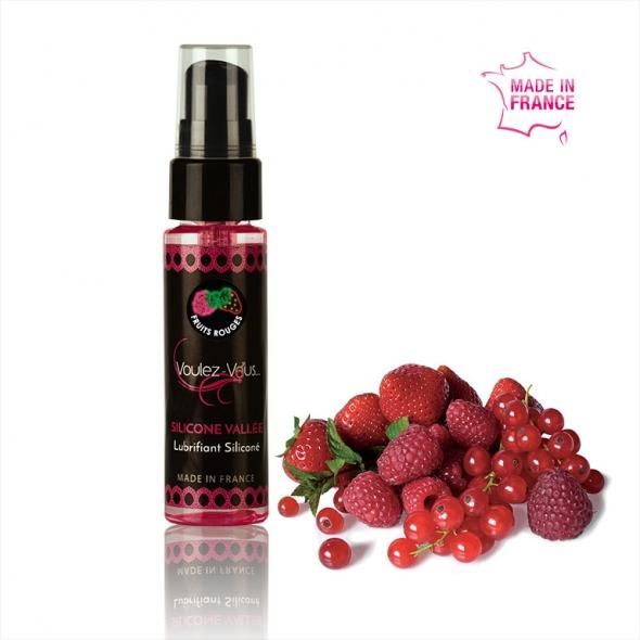lubrifiant gourmand Silicone Vallée Fruits Rouges