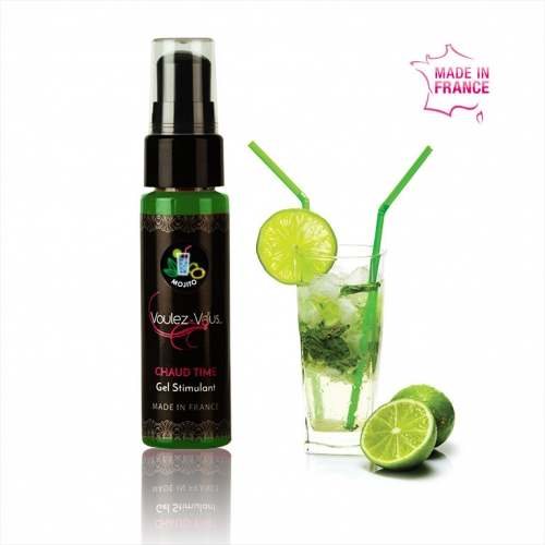 Stimulating gel - Mojito - FIRED UP - by Voulez-Vous…