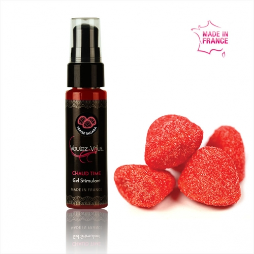 Stimulating gel - Tagada Berry - FIRED UP - by Voulez-Vous…