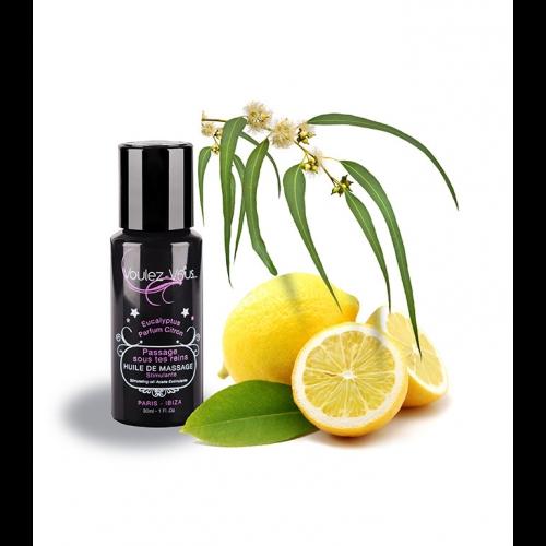Huile de massage Stimulante 30ml PASSAGE SOUS TES REINS – Voulez-Vous…